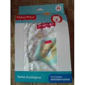 Pañal Ecologico Fisher Price Xg + Absorbentes