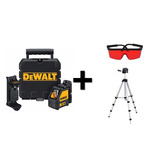Nivel Laser Esquadro Laser 2x1 Dw088k Dewalt + Acessórios