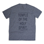 Camisa Cristã Temple Of The Holy Spirit 26002