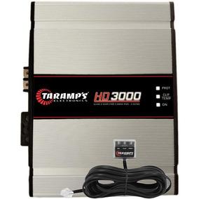Módulo Amplificador Hd 3000 W Rms Taramps Hd3000 1 Ohm