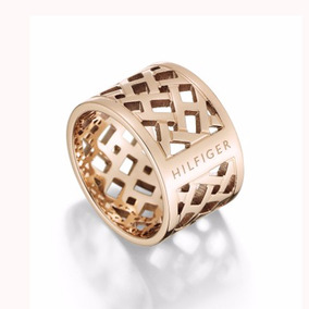 Anillo Tommy Hilfiger Classic Signature 2700744 Mujer