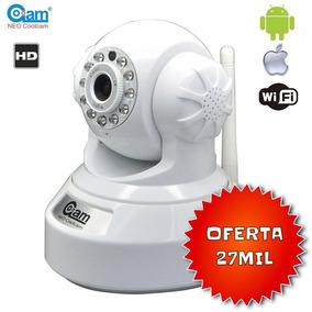 Camara Seguridad Ip Wifi Hd Neo Coolcam Nocturna Motorizada