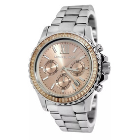 Relógio Fal5619 Michael Kors Ladies Mk5870 Rose Prata Saldão