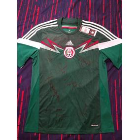 d2aadcccf01ff Polo Adidas Seleccion De Mexico 2014 en Mercado Libre México