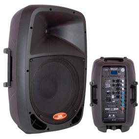 Caixa De Som Bluetooth Amplificada Ativa 12 Usb Pc 200w
