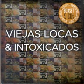 Viejas Locas & Intoxicados - Box Set 5 Cds - Los Chiquibum