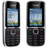 Nokia C2-01 Desbloqueado Preto Câm 3.2mp 3g +nf+frete Grátis