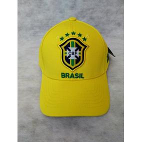 Boné Copa Do Mundo Brasil Seleção Japão Aba Reta Ñ New.e - Bonés ... 7b10a36b714