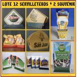 Dante42 Lote Servilleteros + Souvernir De Cerveza