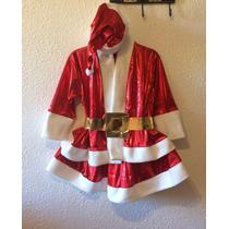 Disfraz De Santa Claus Para Niña.