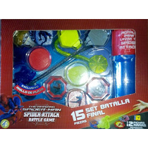 Spiderman Attack Battle Game Batalla Final 15 Piezas Kreisel