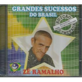 Cd - Zé Ramalho - Grandes Sucessos Do Brasil - Lacrado