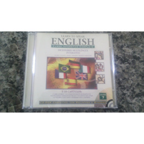 Cd : Learn To Speak English - Cd 7 - Leia Anuncio -