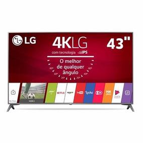 Smart Tv Led 43 Ultra Hd 4k Lg 43uj6565 Lançamento