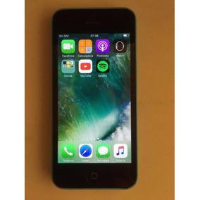 Iphone 5c Azul (8g) Usado Con Pequeño Problema En Touch
