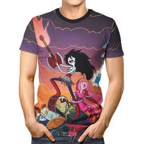 deb4f563a Camiseta Estampada Hora De Aventura Marceline - Camisetas Manga ...