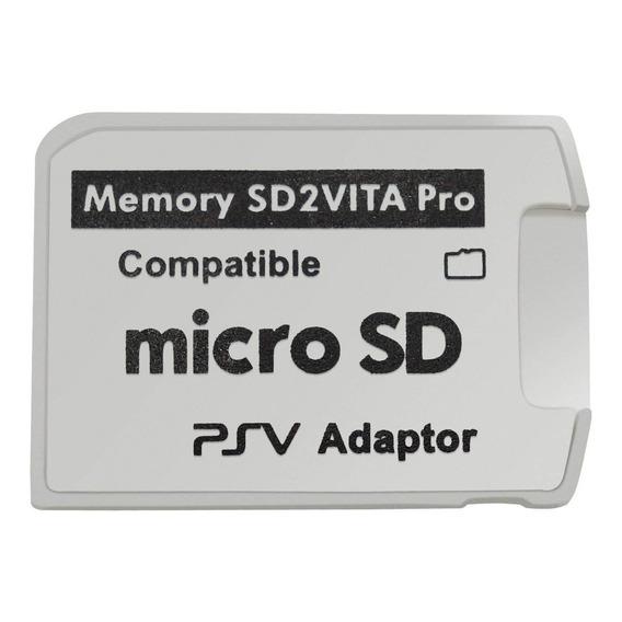 Adaptador Memoria Sd2vita 5.0 Micro Sd A Ps Vita 1000 2000