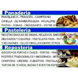 Taller, Cursos De Panadería Y Pasteleria