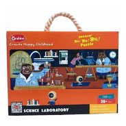 Puzzle Jumbo 140pcs - Laboratorio De Ciencias