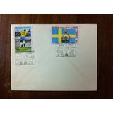 Envelope Selos Tricampeão Copa Do Mundo Pelé Futebol 1970