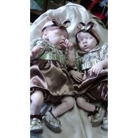 Kit Reborn Twin A E Twin B E Placa De Barriga