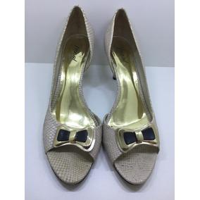 Sapato Feminino Bege Tamanho Grande