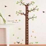 Adesivos/régua Para Medir Altura Das Crianças/árvore