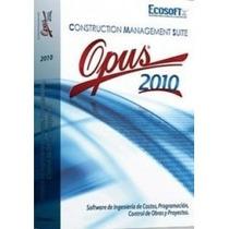 Programa Opus 10 - Versión Completa