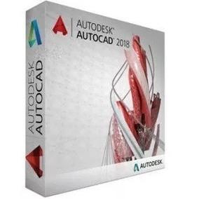 Autocad 2018 + Video Tutorial De Instalacion, 32/64 Bits