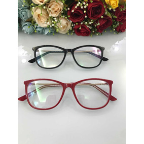 Armação De Oculos 3 Peças Vermelha - Calçados, Roupas e Bolsas no ... 694c9acd36