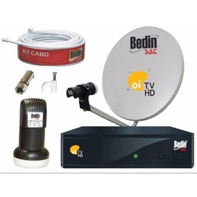 Kit Receptor Oi Tv Livre Hd Bedin Ns1030 Completo Sem Mensal