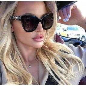 Óculos De Sol Gucci Gg208s Estrela Preto