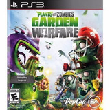 Plantas Vs Zombies Garden Warfare - Playstation 3 Ps3- 24hs
