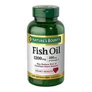 Fish Oil Omega 3 (200 Capsulas)