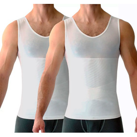 Camiseta Modeladora Faja Hombre Compresión Promoción 2x1