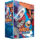 Box Dvd Naruto Shippuden 2ª Temp Vols 1 E 2 10 Dvds Original