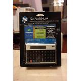 Calculadora Financeira Hp12c Hp 12c Platinum Português Garan