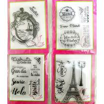 Sellos Polímero En Español Scrapbook