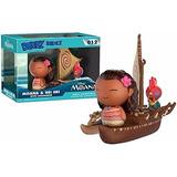 Funko Dorbz Ridez Moana & Hei Hei With Catamaran 012