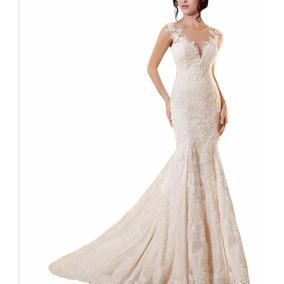 Vestido Novia Estilo Sirena