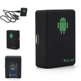 Mini Rastreador Localizador Gps Veicular A8 Escuta Espiã