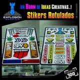 Calcomanias Stickers Rotulados