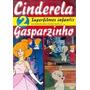 2 Superfilmes Infantis Cinderella E Gasparzinho Dvd Original