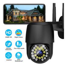 Cámara De Seguridad Wifi Exterior 1080p Con Led Iluminación