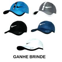 Boné Chapéu Modelo Nike Unisex Lançamento Preto Branco Color