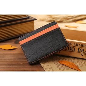 Billetera Compacta Estilo Magic Money Verde O Naranja