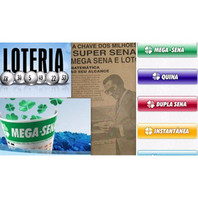Livro Como Ganhar Nas Lotérias,mega E Outros,+ 12 Brindes.