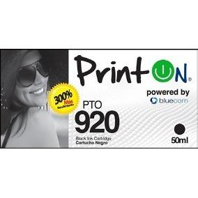 Cartucho Generico Hp 920 Xl Negro Printon Hp 6000 Hp 6500