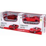 Maisto 1/24 Set 2 Ferrari 488gtb Y F12 Metal Armar Decorados
