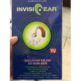 Amplificador De Sonido Invisi Ear No Necesita Baterias